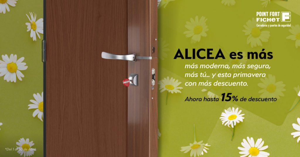 Cerraduras Fichet Alicea